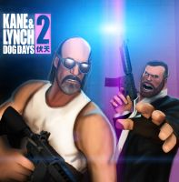 Kane and Lynch by P0nyStark