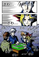 Akagi VS Yami mahjong match by rijinks