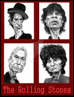 The Rolling Stones by adavis57