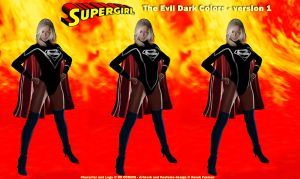 Dark Costume New Supergirl 1 by dlfurman
