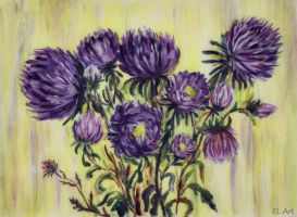 Asters 1 by ErynLuin