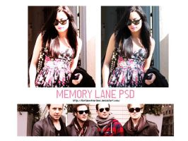 memory lane psd by Thetimeofourlives