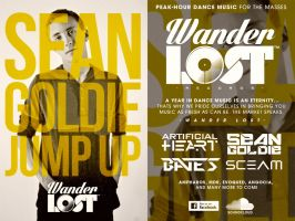 Wander Lost Flyer Design by GrahamPhisherDotCom