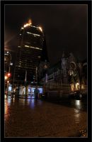 Montreal at Night 18 by Pathethic