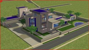 Sims2 Modern blues by RamboRocky