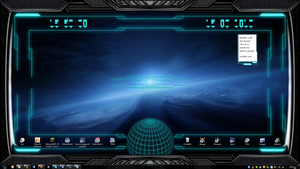Stargate Interface Space Ship by exostyx