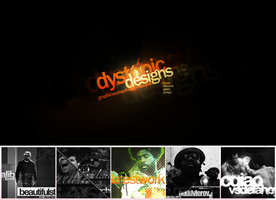 New Folio Design by mrh09