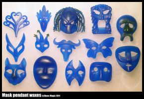 A bunch of masks 2 by Dans-Magic