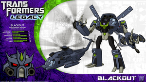 Transformers Legacy: Blackout by CyRaptor