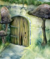 Door through Faerie by myceliae