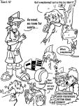 Digimon Savers storyboard by BlueIke