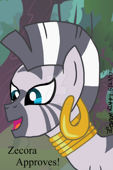 Zecora Approves by lcponymerch