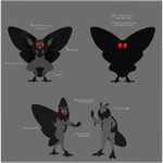 Mothman 2k17 Study by Phantomania