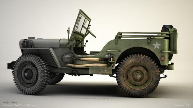 Willys Jeep 05 by zsozs