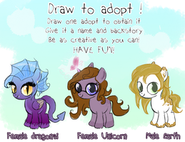Draw to Adopt I CLOSED by Lost-in-Equestria