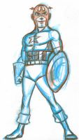 1-29-10 captain america by AlanSchell