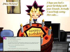 Question 1173 ~Huge Cake Promise~ by AskMMDYugi