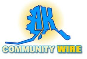 Alaska Community Wire logo by drvermin