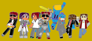 team crafted (colored) by superultrabro