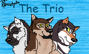 A.T. The super trio by RockyTheRedWolf