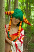 Feena - Grandia - Woods by SweetLuminia