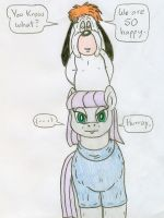 Droopy and Maud by Jose-Ramiro