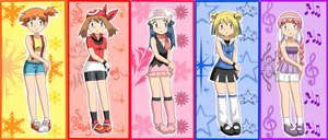 Pokemon Girls by Endless-Rainfall