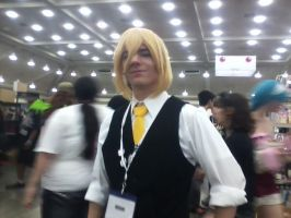 Vocaloid Cosplayer 1-Len the Servant of Evil by Mandychan52
