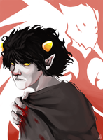 Karkat Vantas: Homestuck by LittleMeesh