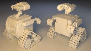 Wall-E Both by Nocturno-Anular