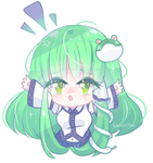 Gift | Sanae by SparksTea