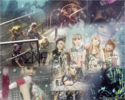 2NE1 Ugly Version 2 by SeoulHeart