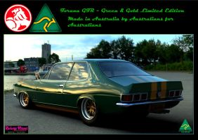 Green and Gold Limited Edition ~ Australian Made by RivieraVisual
