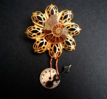 Steampunk Broach 10 by KatarinaNavane