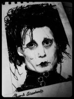 Edward Scissorhands by kittyhawkcookie
