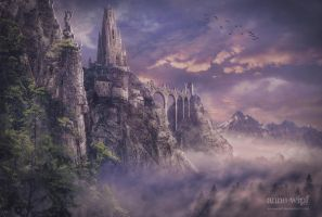 Kingdom in the Clouds by annewipf