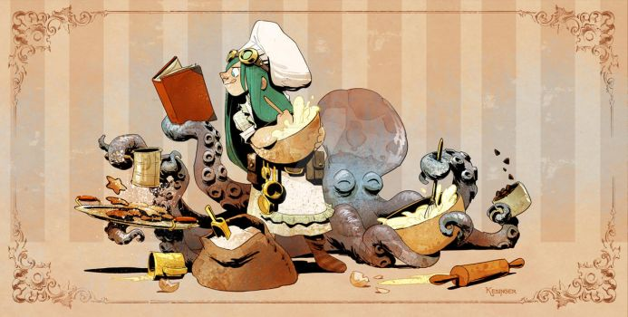 baking with otto! by BrianKesinger