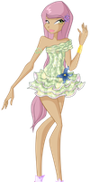 Cristall Princess of LInfeia by CostantStyle