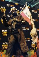 Saturday Best Costume - John as NCR Veteran Ranger by MCMComicCon