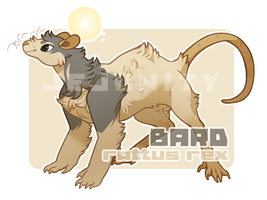 R.REX - bard - [ADOPT] [DTA] [CLOSED] by Jejunity