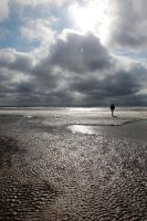St. Peter-Ording Beach I by puppeteerHH