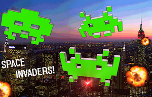 Space Invaders by MasterContr0l99