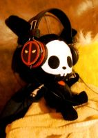 Bunny with Headphones 1 by idont0know