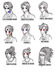 Night Vale and Desert Bluffs profiles by Le-Vampire-Cat