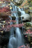 Fall Waterfall by aworldoffish