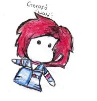 Gerard Way Chibi by Ressy8D