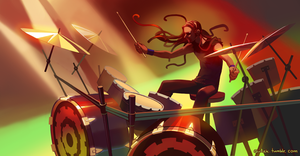 Metalocalypse - Pickles the Drummer by Okha