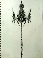 Poseidon Trident by Sacroth