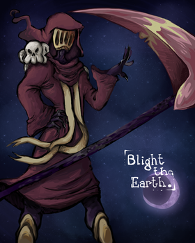 blight the earth by perrierra