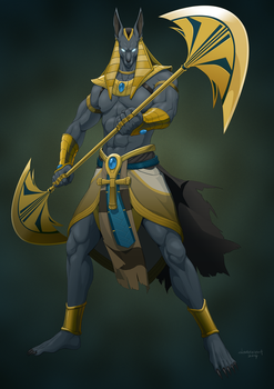 Revenge of the Pantheons : Anubis by doubleleaf